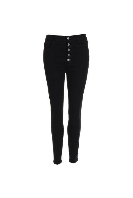 JBrand jeans Lillie high rise crop skinny zwart