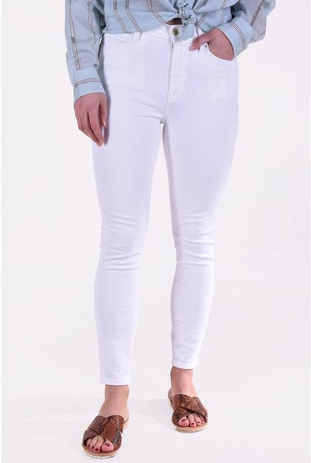 FRAME jeansbroek Le High Skinny wit