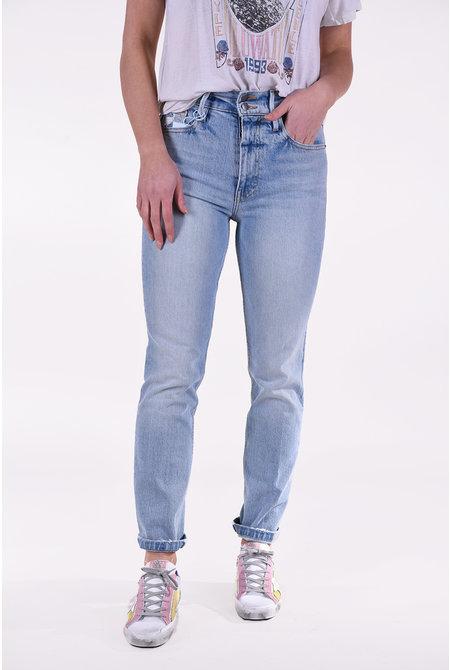 FRAME jeansbroek Sylvie Slender Straight blauw