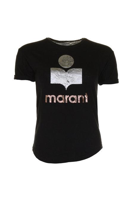 Isabel Marant t-shirt Koldi zwart