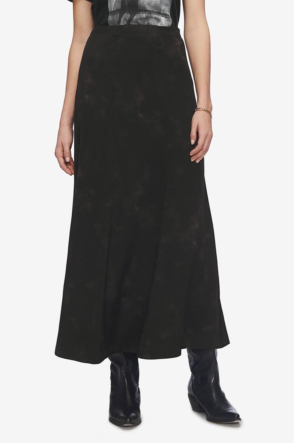 Anine Bing rok Caroline zwart