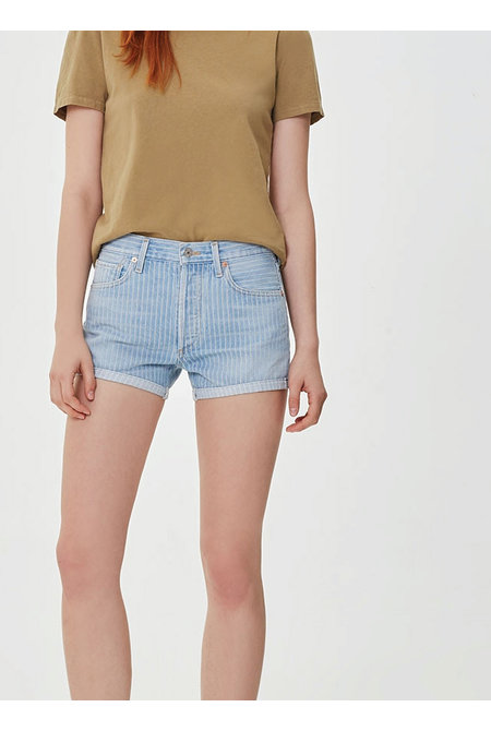 Citizens of Humanity short Bree Relaxed blauw