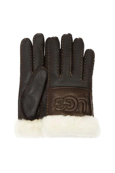 UGG UGG handschoenen Logo Gloves 17374 zwart