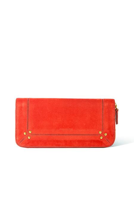 Jerome Dreyfuss portemonnee Malcom rood