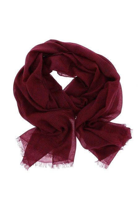 Isabel Marant shawl Woody EC0113 bordo rood