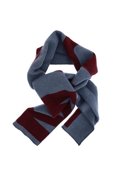 Isabel Marant Isabel Marant shawl Loli blauw