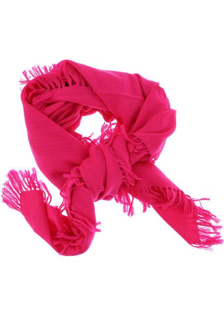 Isabel Marant shawl Zila neon roze