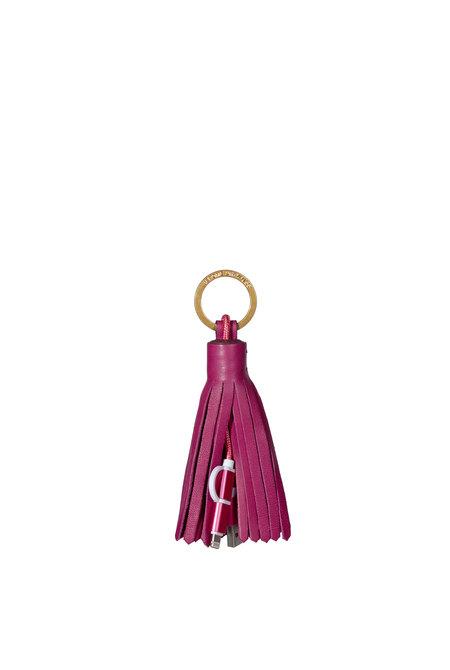 Jerome Dreyfuss sleutelhanger Charging Pompon roze