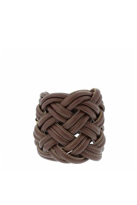 Tissa Fonteneda armband C01 Max Cuff bruin