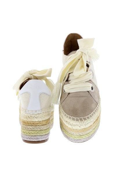 Chloe Chloe sneakers Qai CH30172 beige