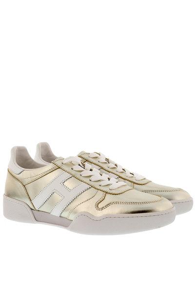 Hogan Hogan sneakers HXW3570AC40 goud