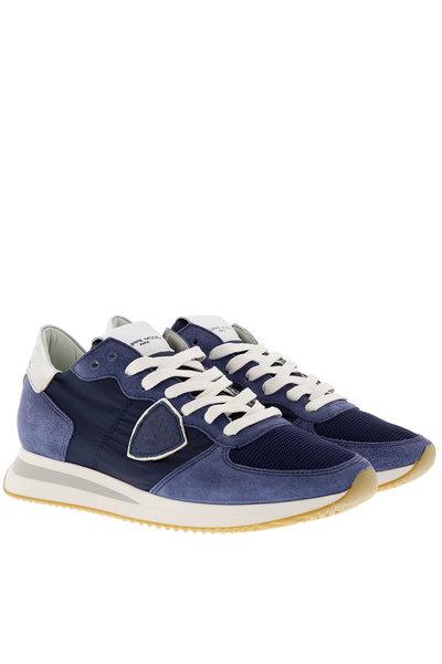 Philippe Model Philippe Model sneakers Tropez mondial blauw