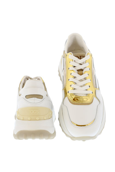 Tods Tods sneakers XXW45B0 wit-goud