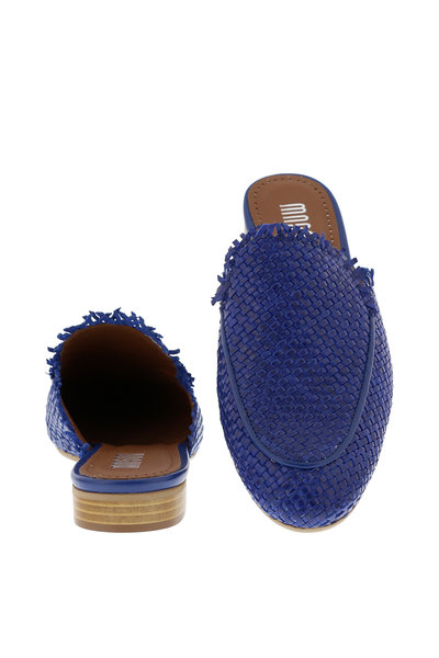 Collection by Marjon Collection by Marjon slip-ons 085 blauw