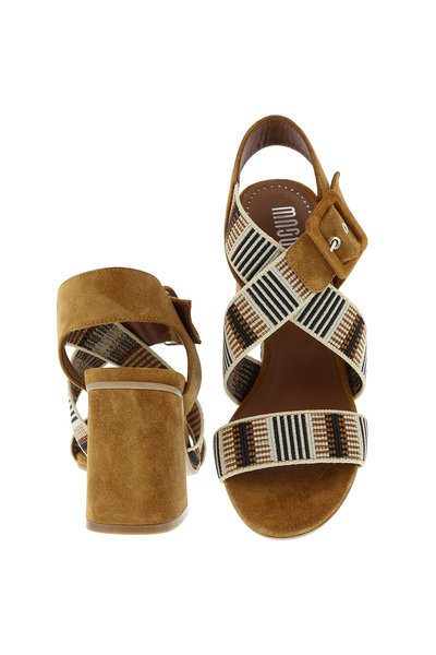 Collection by Marjon Collection by Marjon sandalen 3052 cognac