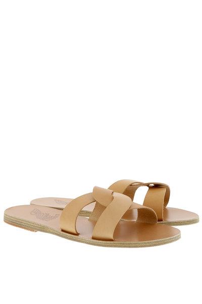 Ancient Greek Sandals Ancient Greek Sandals sandalen Desmos beige