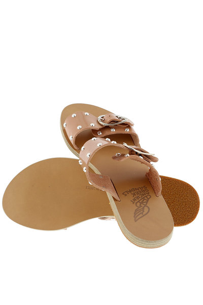 Ancient Greek Sandals Ancient Greek Sandals sandalen Messinia Rivets nude