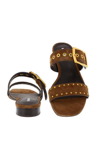 Lola Cruz Lola Cruz slippers 123Z30BK bruin