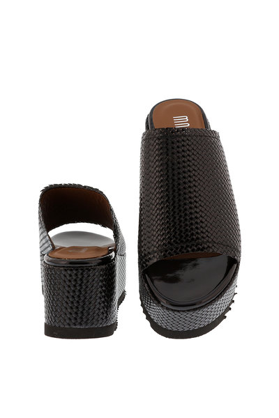Collection by Marjon Collection by Marjon slippers 1300 zwart
