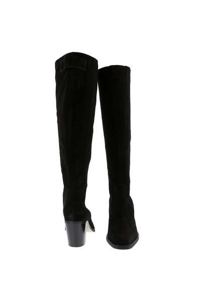 Ganni Ganni hoge laarzen S1010 zwart