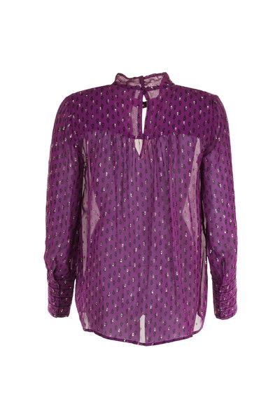Ba&sh Ba&sh blouse Cabri paars
