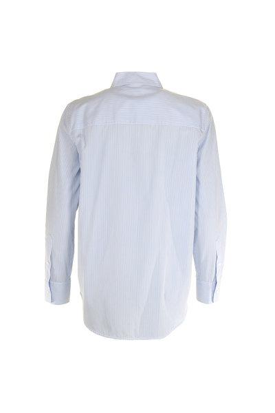 Equipment Equipment blouse Kenton blauw-wit