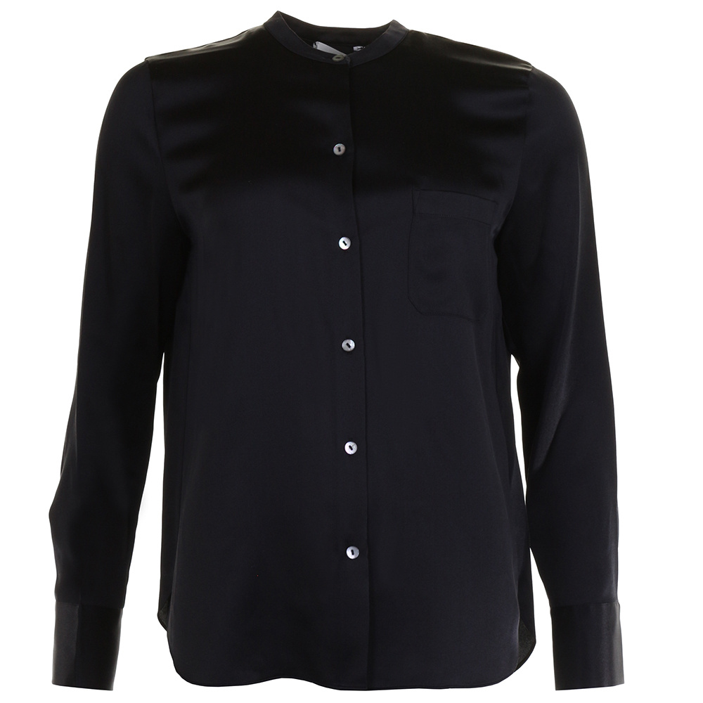 Vince blouse V6297-12244 zwart