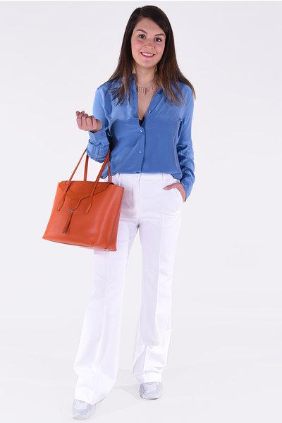 Equipment Equipment blouse Essential blauw