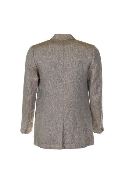 Forte_Forte Forte_Forte blazer My jacket goud