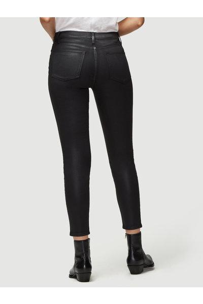 FRAME FRAME jeans Le High Skinny Coated zwart