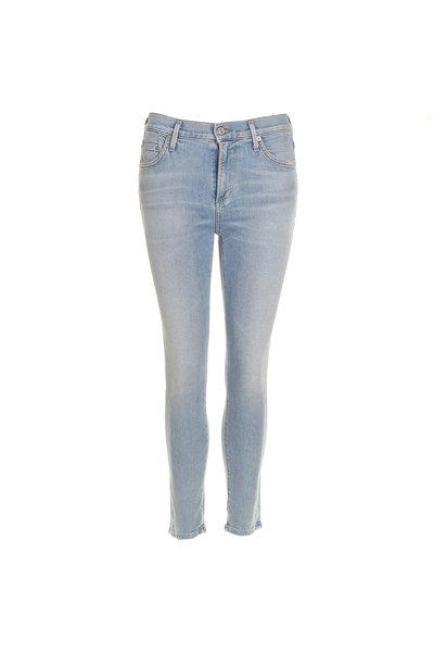 Citizens of Humanity Citizens of Humanity jeans Rocket crop blauw