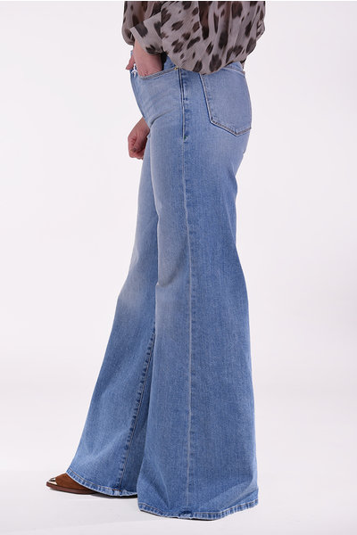FRAME FRAME jeans Le Palazzo blauw