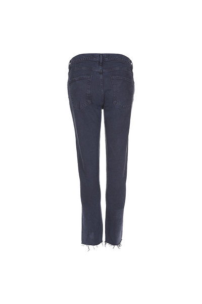Agolde Agolde jeans Toni Midrise zwart