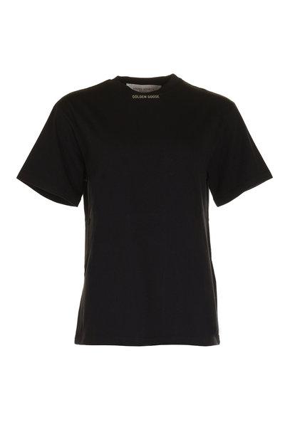 Golden Goose Golden Goose t-shirt G36WP024 zwart