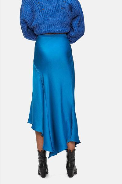 Anine Bing Anine Bing rok Bailey Silk blauw