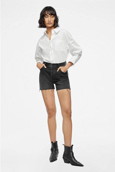 Anine Bing Anine Bing Bonnie shorts zwart