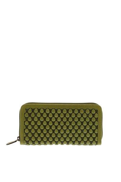 Tissa Fontaneda Tissa Fontaneda portemonnee Wallet Large groen