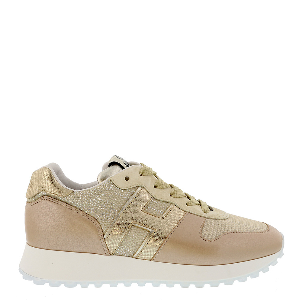 Hogan sneakers HXW4290 beige goud
