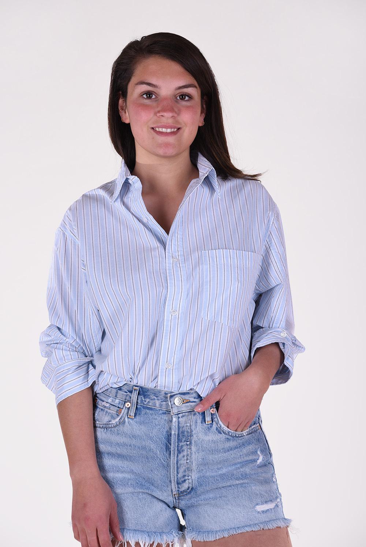 Citizens of Humanity blouse Kayla 9103-1108 blauw