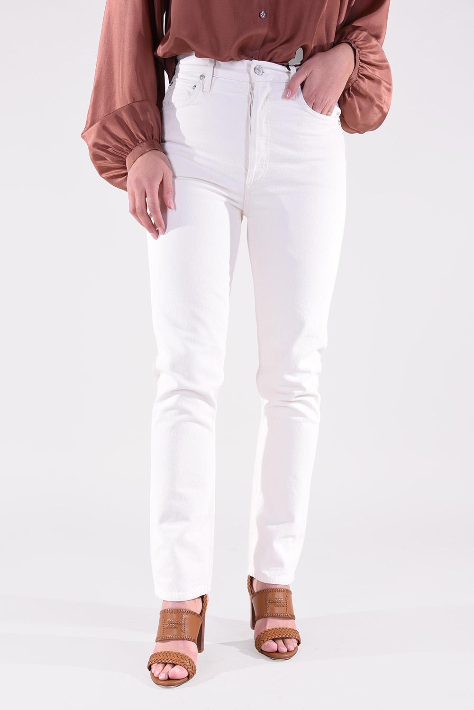 Agolde jeansbroek Remy A105-1183 crème