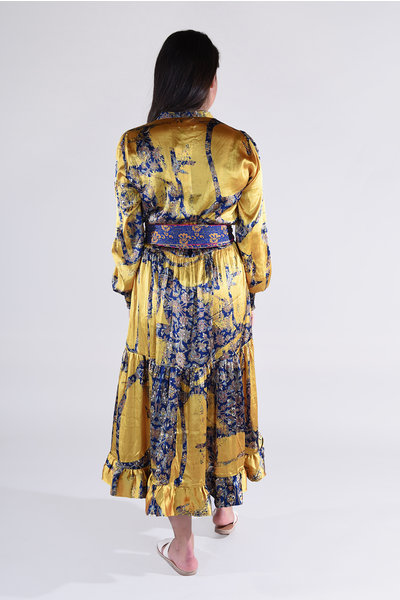 Sissel Edelbo Sissel Edelbo jurk Celina multicolour 8