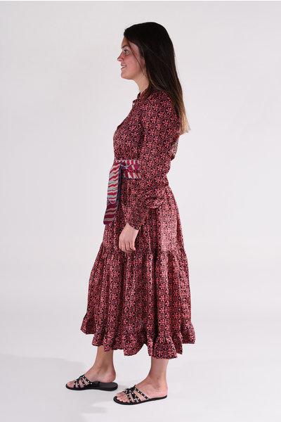 Sissel Edelbo Sissel Edelbo jurk Celina multicolour 19
