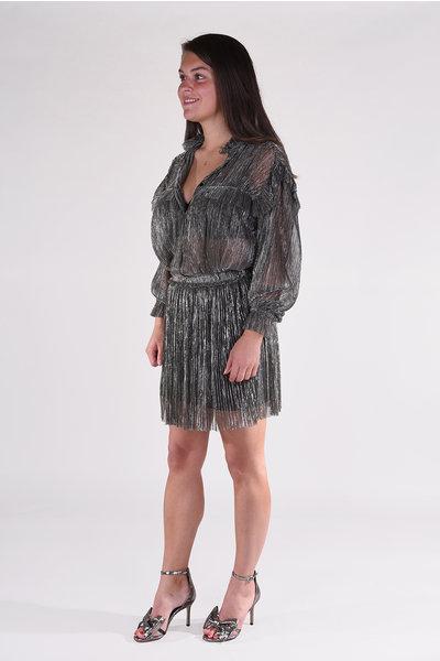 Isabel Marant Isabel Marant blouse Elmirae HT1871-20A053E zilver