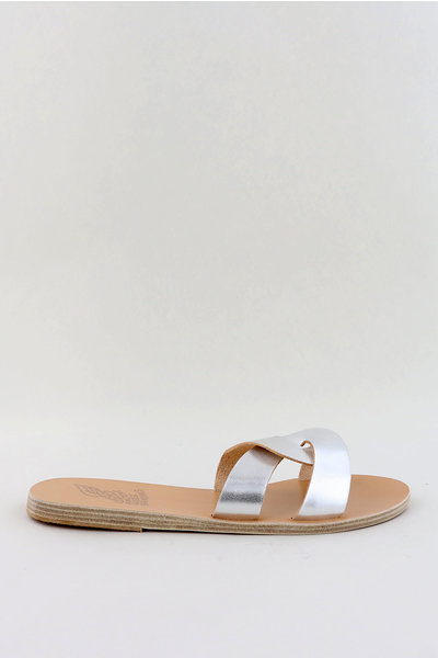 Ancient Greek Sandals Ancient Greek sandalen Desmos zilver