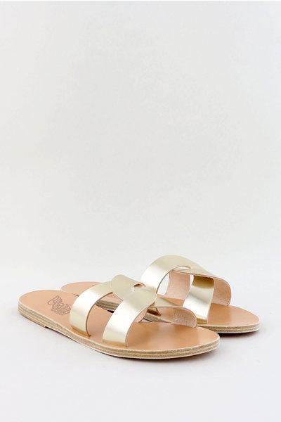 Ancient Greek Sandals Ancient Greek sandalen Desmos goud
