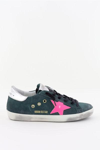 Golden Goose Golden Goose sneakers Superstar GWF00101.F000210 groen