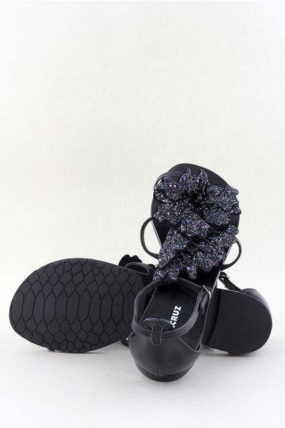 Lola Cruz Lola Cruz sandalen 034Z05BK zwart