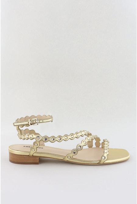 sandalen 110Z10BK goud