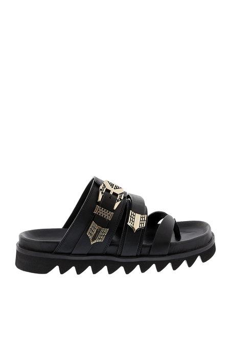 sandalen Lauren Taro zwart