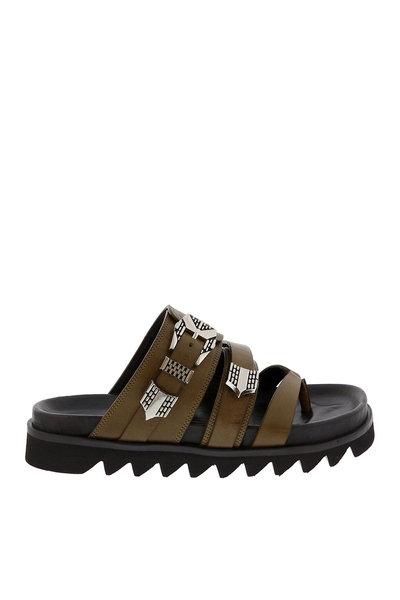 Nubikk Nubikk sandalen Lauren Taro groen